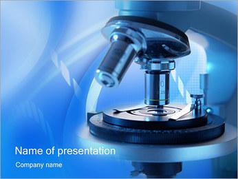 Microscope Modèles des présentations  PowerPoint - Diapositives 1