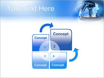 Microscope Modèles des présentations  PowerPoint - Diapositives 5