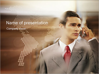 Business Communication PowerPoint Template