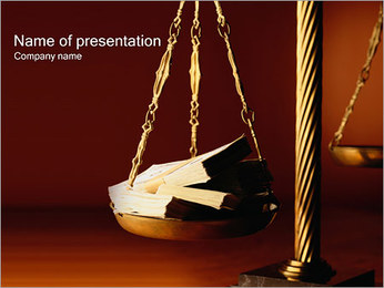 Corruption PowerPoint Template