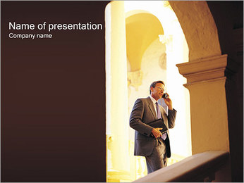 Business Conversation PowerPoint Template