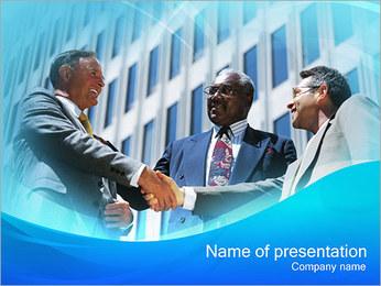 Business Partnership PowerPoint Template