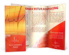 Сardiogram Brochure Templates