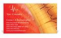 Сardiogram Business Card Template
