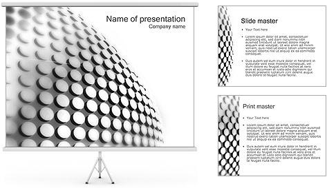 Grille Modèles des présentations  PowerPoint