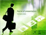 Business Trips PowerPoint Templates