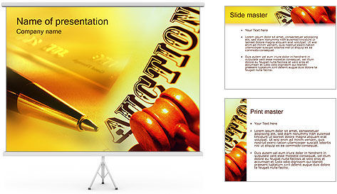 Auctions PowerPoint Template