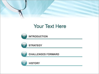 Лупа Шаблоны презентаций PowerPoint - Слайд 3