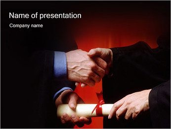 Diploma PowerPoint Template