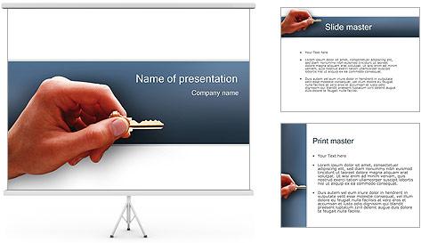 Key PowerPoint Template