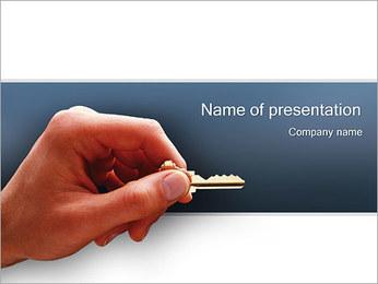 Key PowerPoint Template - Slide 1
