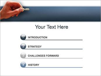 Key PowerPoint Template - Slide 3