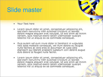 Двойной спирали ДНК Шаблоны презентаций PowerPoint