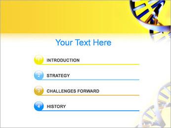 Двойной спирали ДНК Шаблоны презентаций PowerPoint - Слайд 3