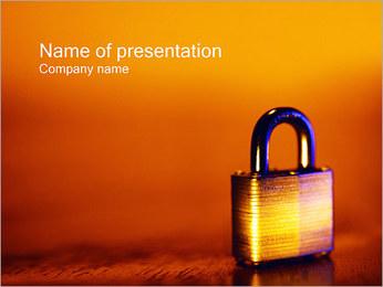 Bezpieczeństwo Szablony prezentacji PowerPoint