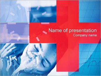 EHBO Sjablonen PowerPoint presentatie