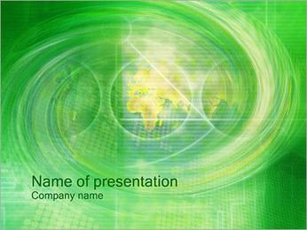 Swirl PowerPoint Template