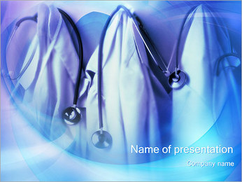 Operating Coats PowerPoint Template