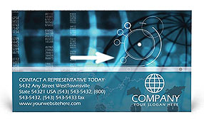 World Business Business Card Templates