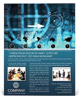World business flyer template design id 0000000118 world business flyer template wajeb Image collections