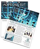 World Business Newsletter Template