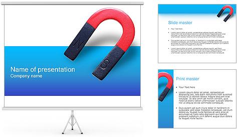 Aimant Modèles des présentations  PowerPoint