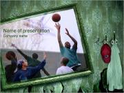 Streetball PowerPoint Templates