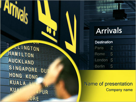 Airport powerpoint template backgrounds google slides id airport powerpoint template toneelgroepblik Images