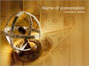 お金 PowerPointプレゼンテーションのテンプレート