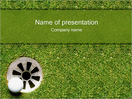 Golf powerpoint template backgrounds id 0000000129 golf powerpoint templates toneelgroepblik Image collections