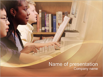 School Teaching PowerPoint Template