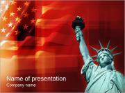 Statue of Liberty PowerPoint Templates