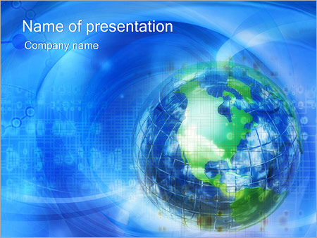 Globe Powerpoint Template Backgrounds Google Slides Id