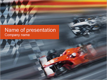 Formula One PowerPoint presentationsmallar