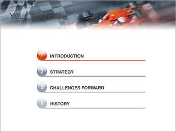 Formule Un Modèles des présentations  PowerPoint - Diapositives 3