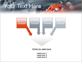 Formule Un Modèles des présentations  PowerPoint - Diapositives 8