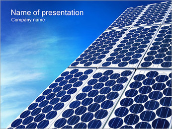 Solar Power PowerPoint Template