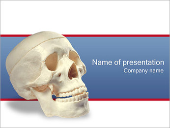 Skull PowerPoint Template