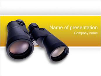 Binoculars PowerPoint Template