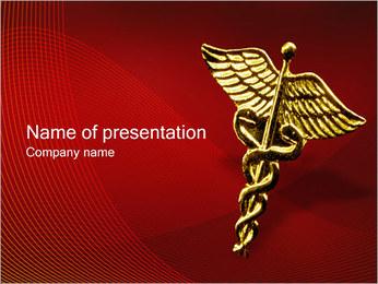 Hart Model Sjablonen PowerPoint presentatie