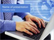 Портативный компьютер Шаблоны презентаций PowerPoint