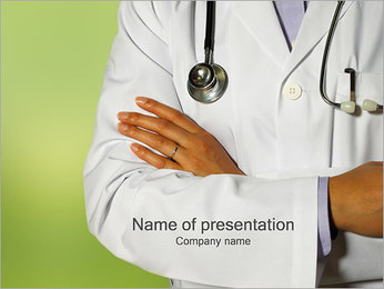 Medische Assistentie Sjablonen PowerPoint presentatie