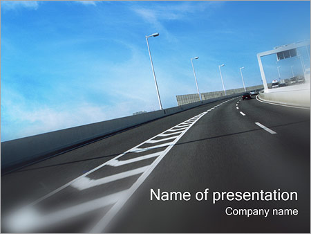 Transportation powerpoint templates backgrounds google slides highway powerpoint templates toneelgroepblik Choice Image