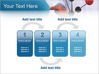 Modèle moléculaire Modèles des présentations  PowerPoint - Diapositives 11