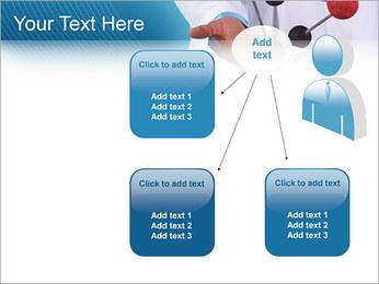 Modèle moléculaire Modèles des présentations  PowerPoint - Diapositives 12