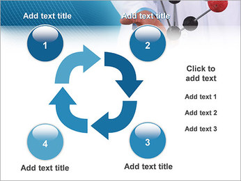 Modèle moléculaire Modèles des présentations  PowerPoint - Diapositives 14