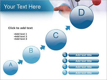 Modèle moléculaire Modèles des présentations  PowerPoint - Diapositives 15