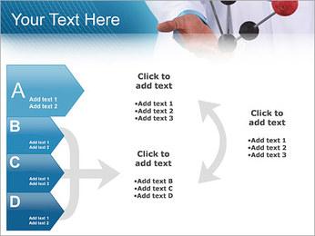 Modèle moléculaire Modèles des présentations  PowerPoint - Diapositives 16