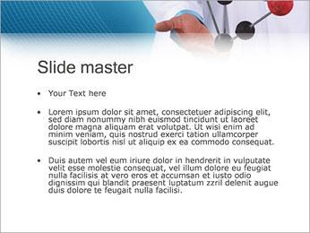 Modèle moléculaire Modèles des présentations  PowerPoint - Diapositives 2