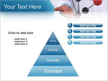 Modèle moléculaire Modèles des présentations  PowerPoint - Diapositives 22